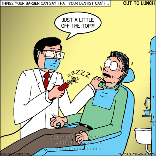 Barber Dentist : Things Your Barber Can Say that your Dentist Should Not OTL - June 26 ...