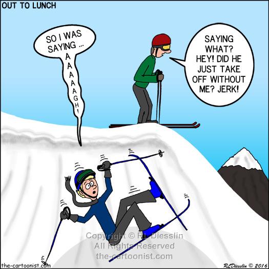 ski fall - otl cartoon march 23, 2016