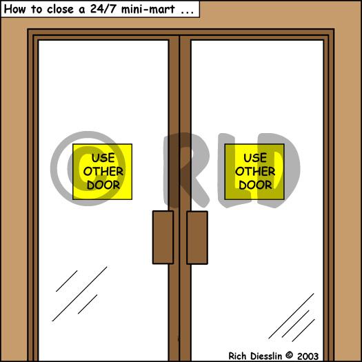 sc 1 st  The-Cartoonist.Com & How to Close a - Minimart pezcame.com