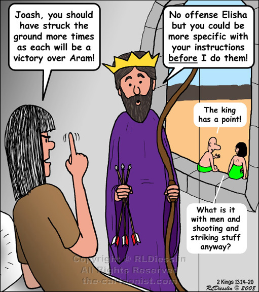 Knock 3 Times On The Ceiling If You Love Me. The Cartoon Old Testament By  Rich Sslin