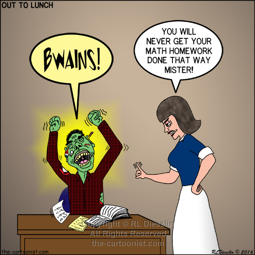 Zombie-a-Go-Go and other Halloween Cartoons!